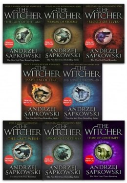 The Witcher Series 8 Books Collection
