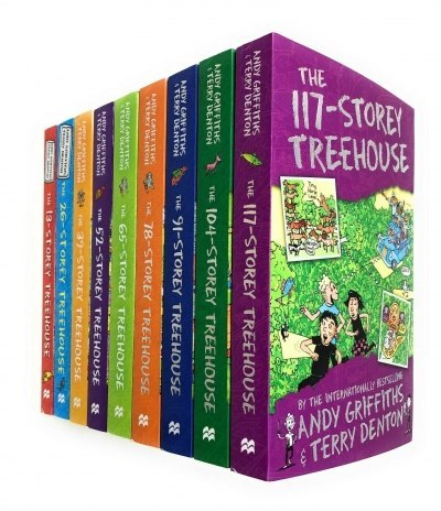 Andy Griffiths The Treehouse Collection 9 Books Set