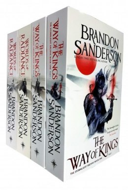 Brandon Sanderson The Stormlight Archive Series 4 Books Collection