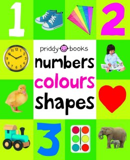 Numbers, Colours, Shapes : First 100 Soft To Touch by Roger Priddy