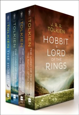The Hobbit / The Lord of the Rings Box Set JRR Tolkien -