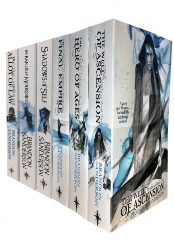 The Mistborn Series by Brandon Sanderson