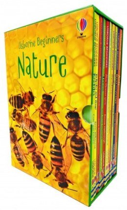Usborne Beginners Nature 10 Books Box Set Collection Reptiles, Rainforests, Trees, How Flowers Grow, Spiders, Bugs, Ants