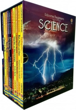Usborne Beginners Series Science Collection 10 Books Box Set