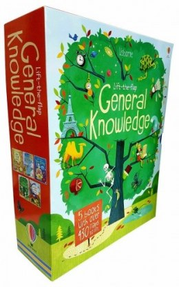 Usborne Lift The Flap General Knowledge 5 Books Box Collection