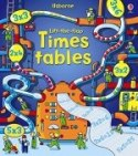 Usborne Lift The Flap See Inside Collection 3 Books Set - Times Tables, Maths, Fractions and Decimals