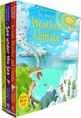 Usborne See Inside Collection 3 Books Set See Inside