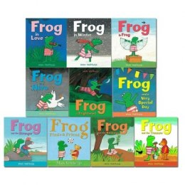 Frog Series 10 Books Collection Set by Max Velthuijs