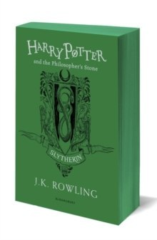 Harry Potter and the Philosopher's Stone by J.K. Rowling ( Slytherin Edition )