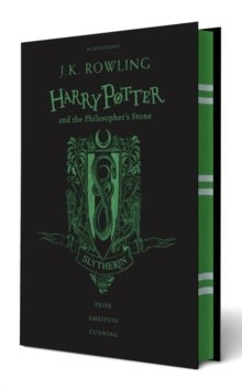 Harry Potter and the Philosopher's Stone by J.K. Rowling Slytherin Edition