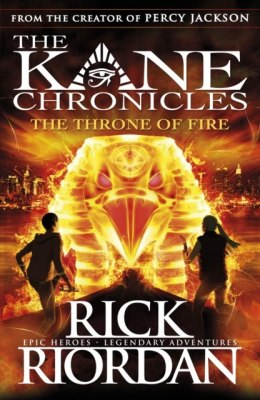 The Throne of Fire (The Kane Chronicles Book 2) by Rick Riordan (Author)