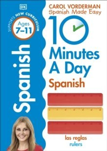 10 Minutes a Day Spanish Ages 7-11 Key Stage 2