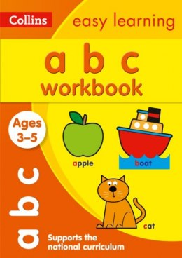 ABC Workbook Ages 3-5 : Ideal for Home Learning by Collins Easy Learning
