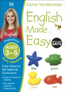 English Made Easy Early Reading Ages 3-5 Preschool by Carol Vorderman