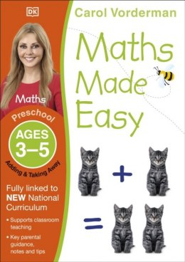Maths Made Easy Adding and Taking Away Ages 3-5 Preschool by Carol Vorderman