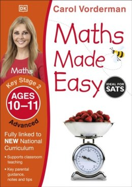 Maths Made Easy Ages 10-11 Key Stage 2 Advanced by Carol Vorderman (Author)