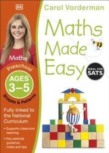 Maths Made Easy Shapes and Patterns Ages 3-5 Preschool by Carol Vorderman