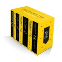 Harry Potter Hufflepuff House Editions Paperback Box Set by J.K. Rowling