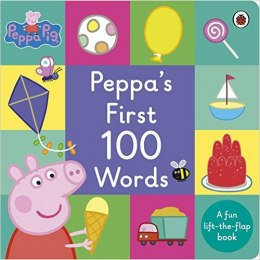 Peppa Pig: Peppa's First 100 Words ( Board Book)