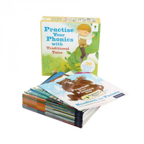 Practise Your Phonics with Traditional Tales - 21 Books