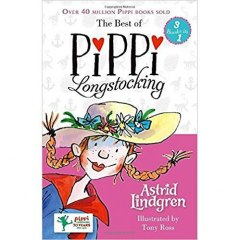 The Best of Pippi Longstocking (3 books in 1) by Astrid Lindgren