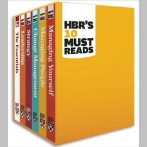 HBR's 10 Must Reads Boxed Set (6 Books) (HBR's 10 Must Reads) by Peter F. Drucker
