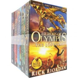 Heroes of Olympus 5 Books (Collection) by Rick Riordan