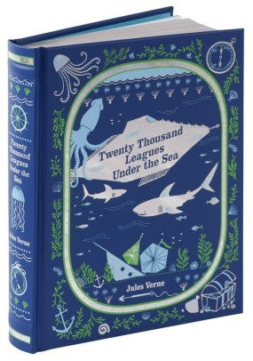 Twenty Thousand Leagues Under the Sea (Barnes & Noble Children's Leatherbound Classics) by Jules Verne