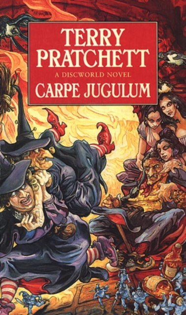Carpe Jugulum : (Discworld Novel 23) by Terry Pratchett