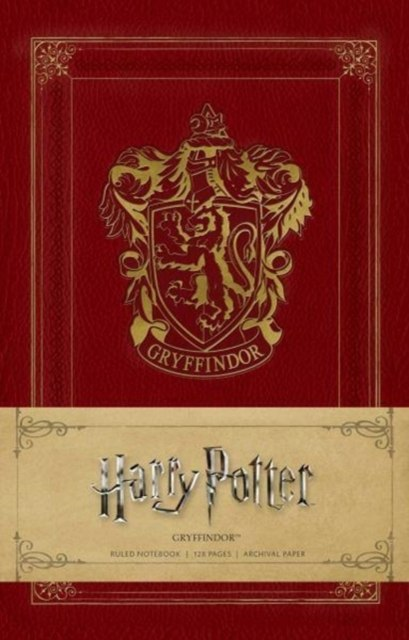 Harry Potter: Gryffindor Ruled Notebook by Insight Editions