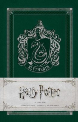 Harry Potter: Slytherin Ruled Notebook by Insight Editions
