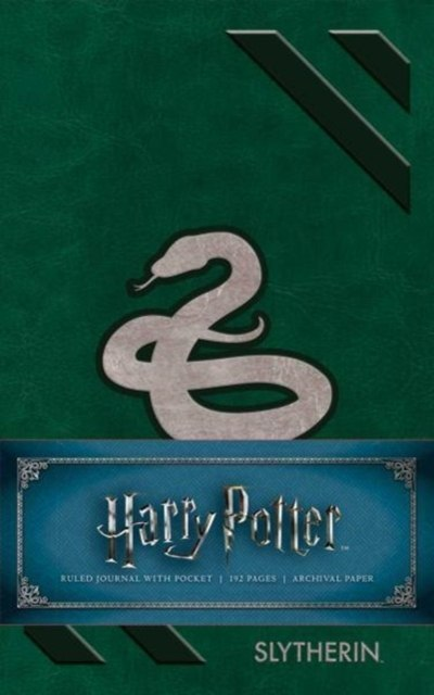 Harry Potter: Slytherin Ruled Pocket Journal by Insight Editions