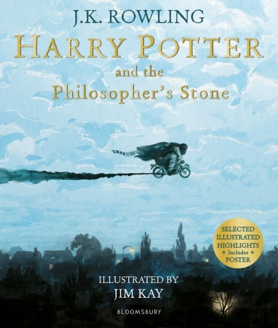 Harry Potter and the Philosopher's Stone : Illustrated Edition by J.K. Rowling
