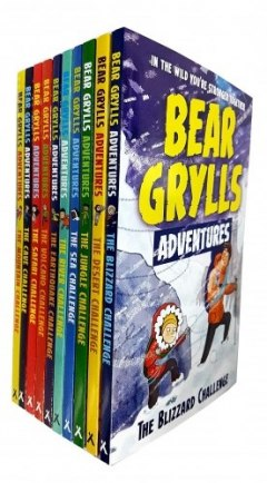 Bear Grylls Adventure Collection 10 Books Set