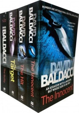 David Baldacci Will Robie Series 4 Books Collection Set