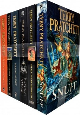 Discworld Novel Series 8 Terry Pratchett Collection 6 Books Set (Book 36-41)