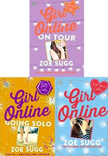 Girl Online Series By Zoe Sugg 3 Books Collection