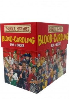 Horrible Histories Books Blood Curdling Collection 20 Books Box Gift Set