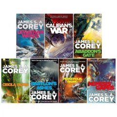 James S. A. Corey Expanse Series 7 Books Collection Set