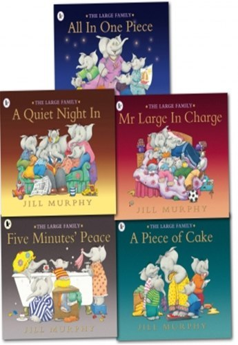 Large Family Collection Jill Murphy 5 Books Set