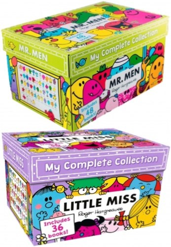Mr Men & Little Miss The Complete Collection 84 Books Box Set