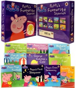 Peppa Pig Favourite Stories 10 Books Collection Set