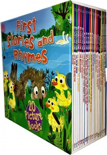 The Bookshop's First Stories and Rhymes 20 Books Collection Box Set