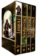 The Lord Of The Rings The Hobbit 4 Books Collection Set